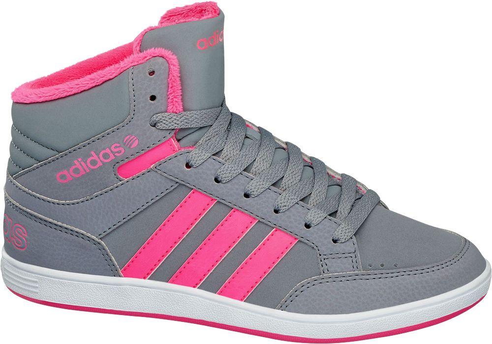 buty dziecięce Adidas Hoops Mid K - 1714381