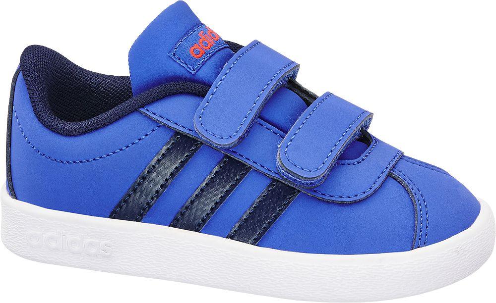 niebieskie sneakersy chłopięce adidas Vl Court 2.0