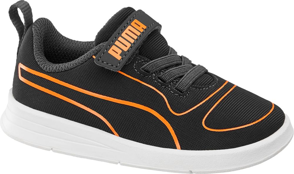 c26bf6e7 buty sportowe, buty sportowe sneakersy dziecięce puma kali v puma czarne -  puma