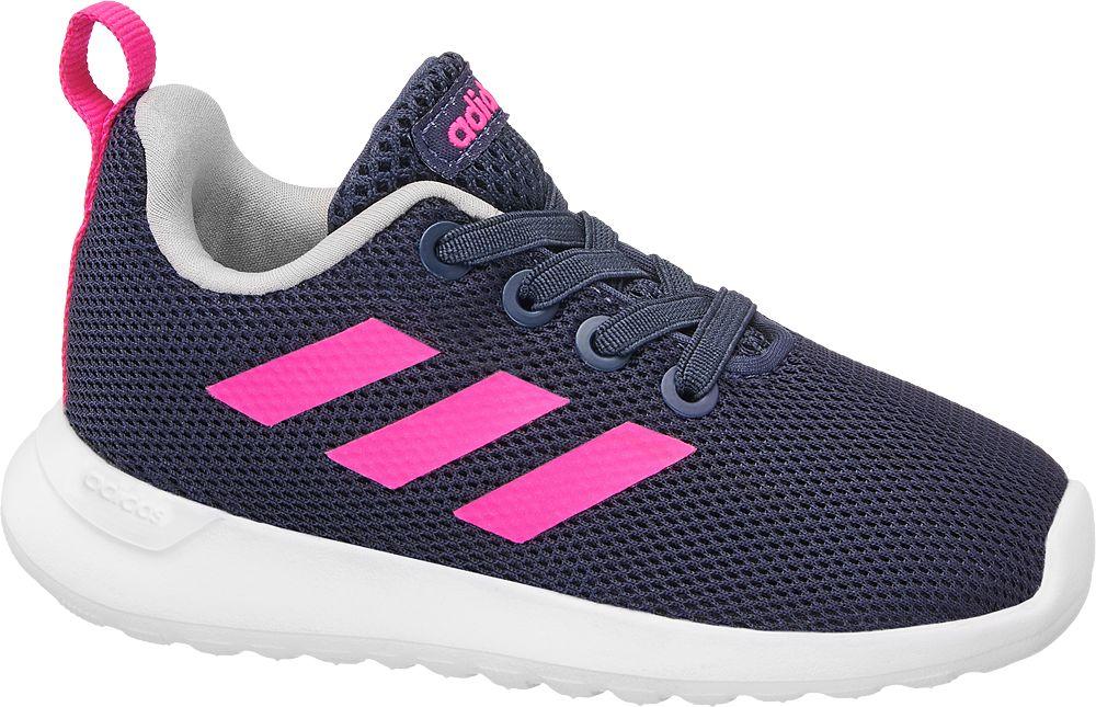 d66adad0f1669 buty sportowe, buty sportowe sneakersy dziecięce adidas lite racer clean inf  adidas granatowe - adidas