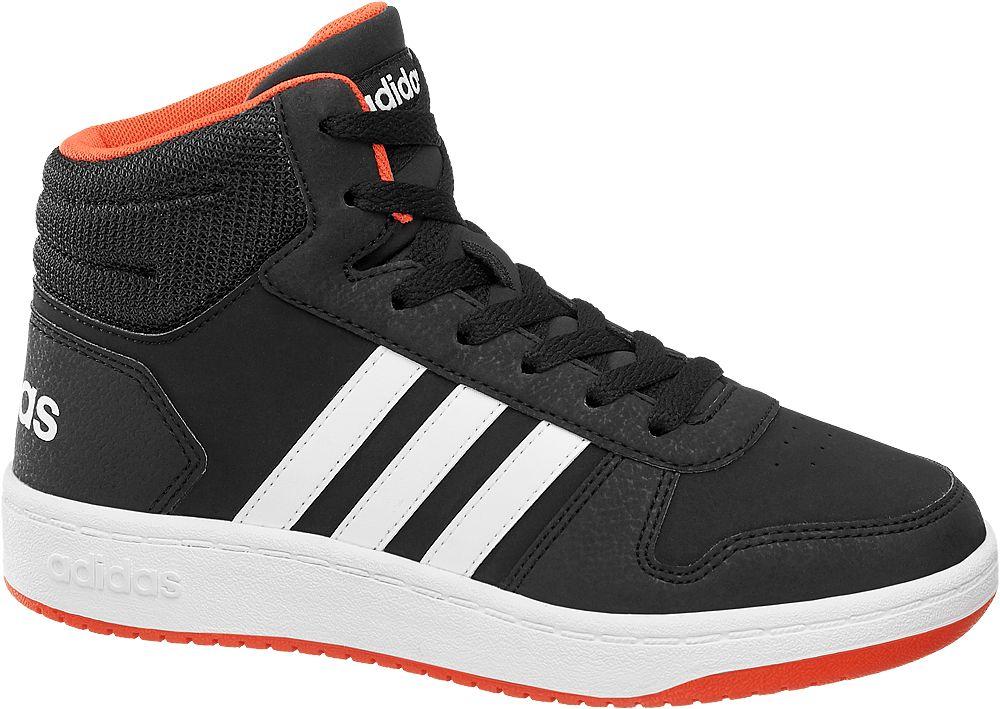 sneakersy młodzieżowe adidas Hoops Mid 2.0