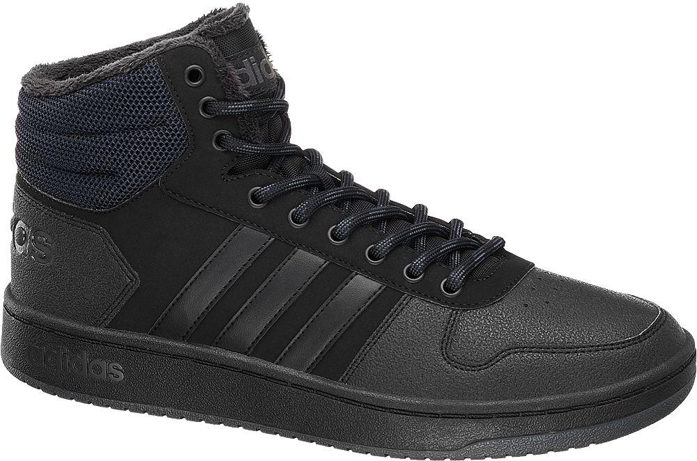 buy popular 40bff a2fc0 sneakersy męskie adidas Hoops 2.0 Mid Winter adidas czarne, Adidas - cena,  gdzie kupić  Miamiga.pl