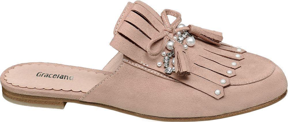 Graceland Módní pantofle  růžová