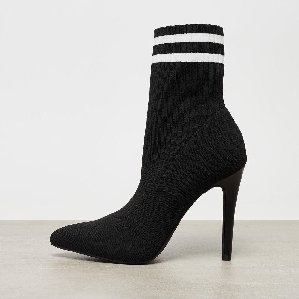 Botki damskie Catwalk czarne