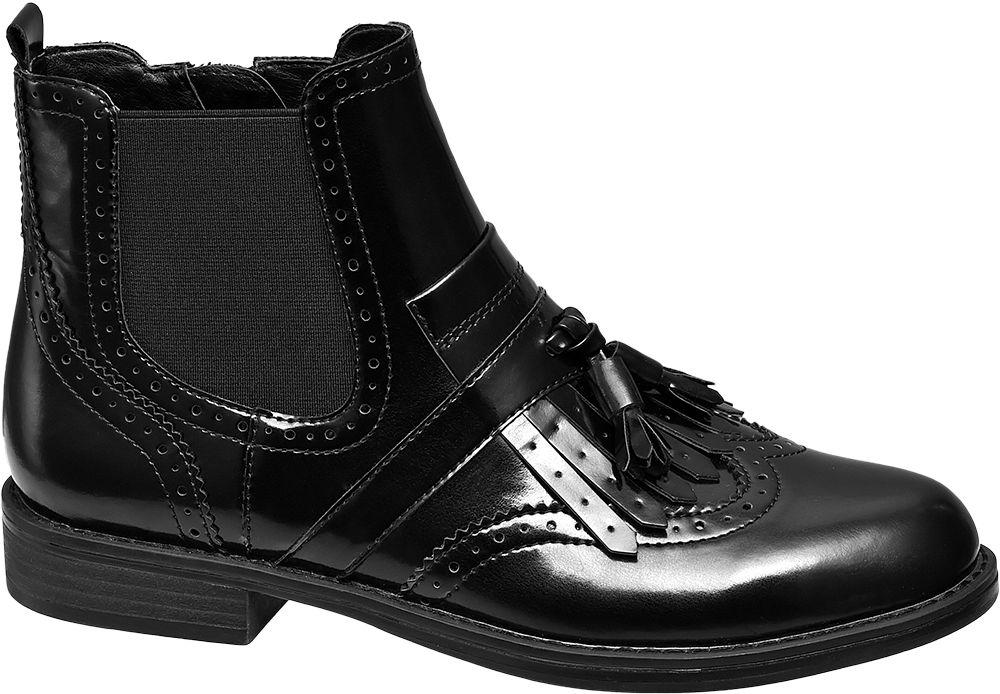 Botki damskie Graceland czarne