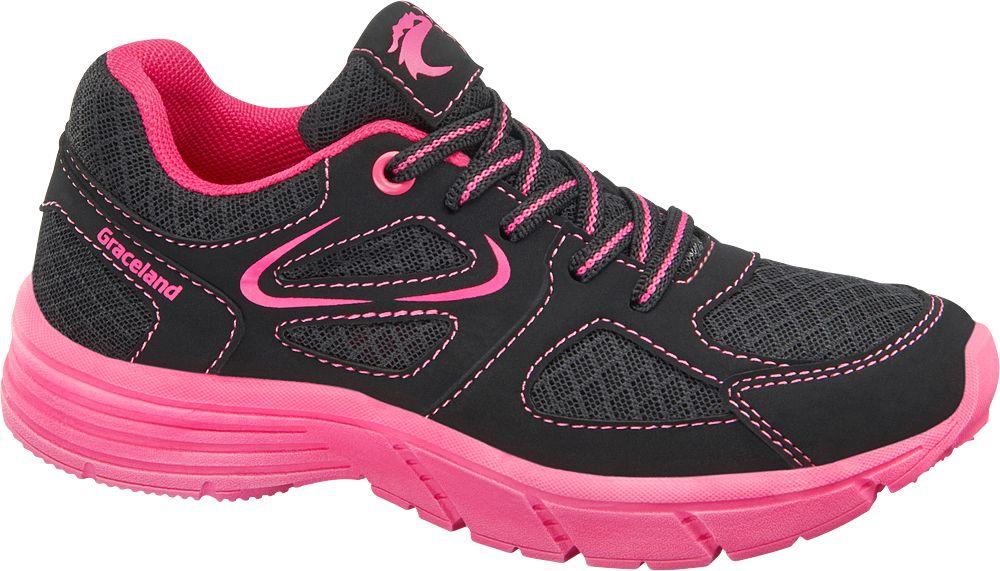 Sportowe buty dziecięce Graceland czarne