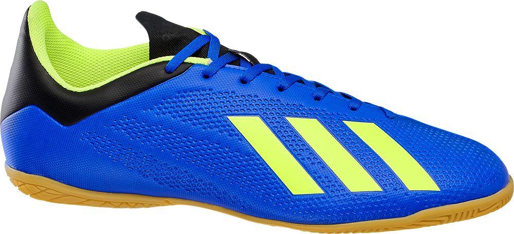 adidas - Modré sálové tenisky Adidas X Tango 18.4 IN Adidas