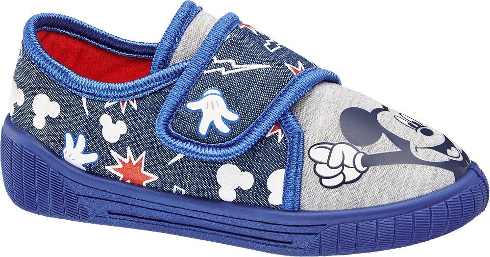Kapcie dziecięce Mickey Mouse niebieskie
