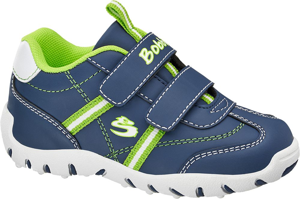 Półbuty dziecięce Bobbi-Shoes niebieskie