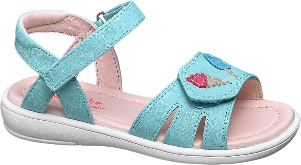Sandały dziecięce Cupcake Couture niebieskie