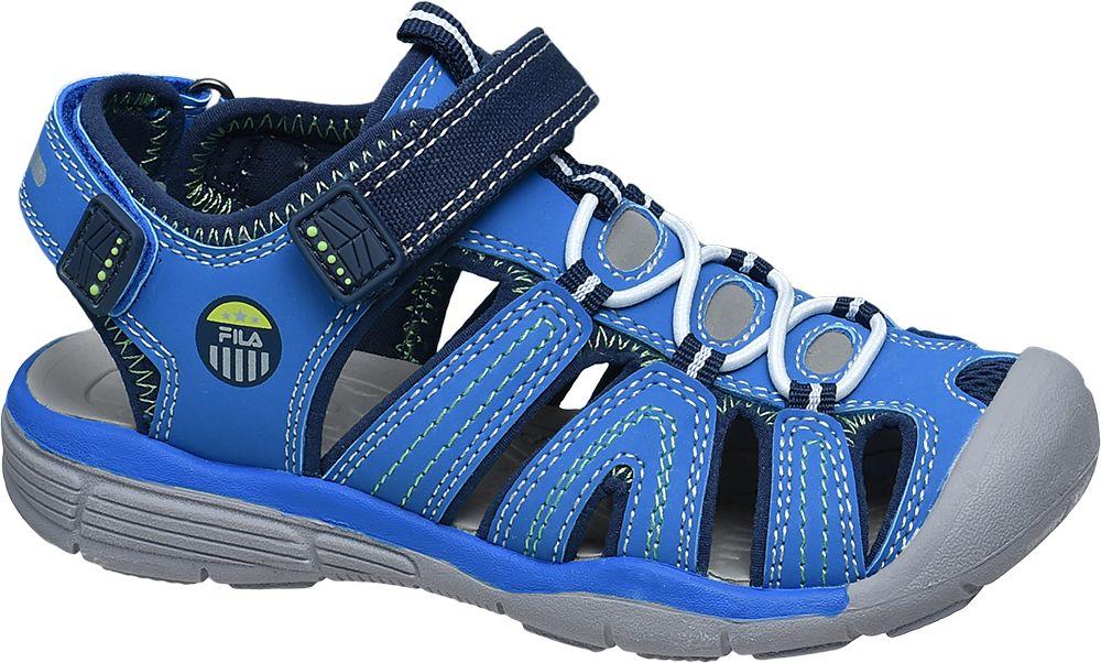 Sandały dziecięce Fila niebieskie