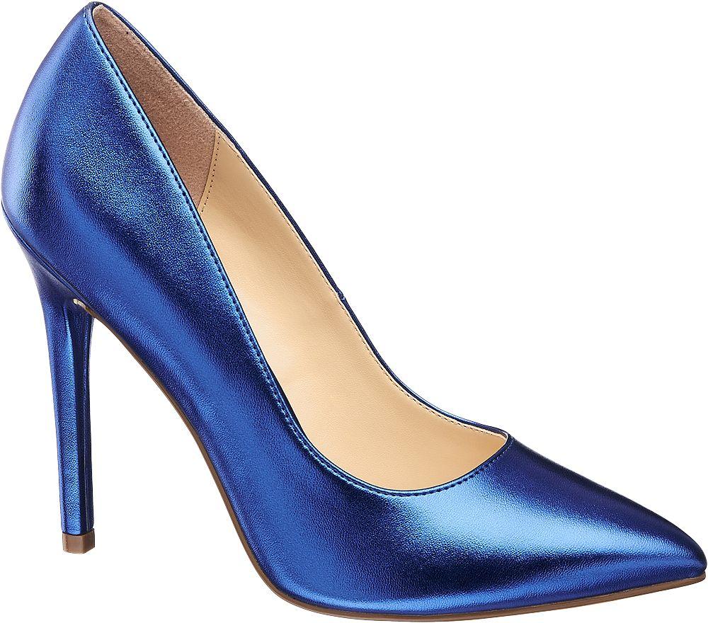 Szpilki damskie Catwalk niebieskie