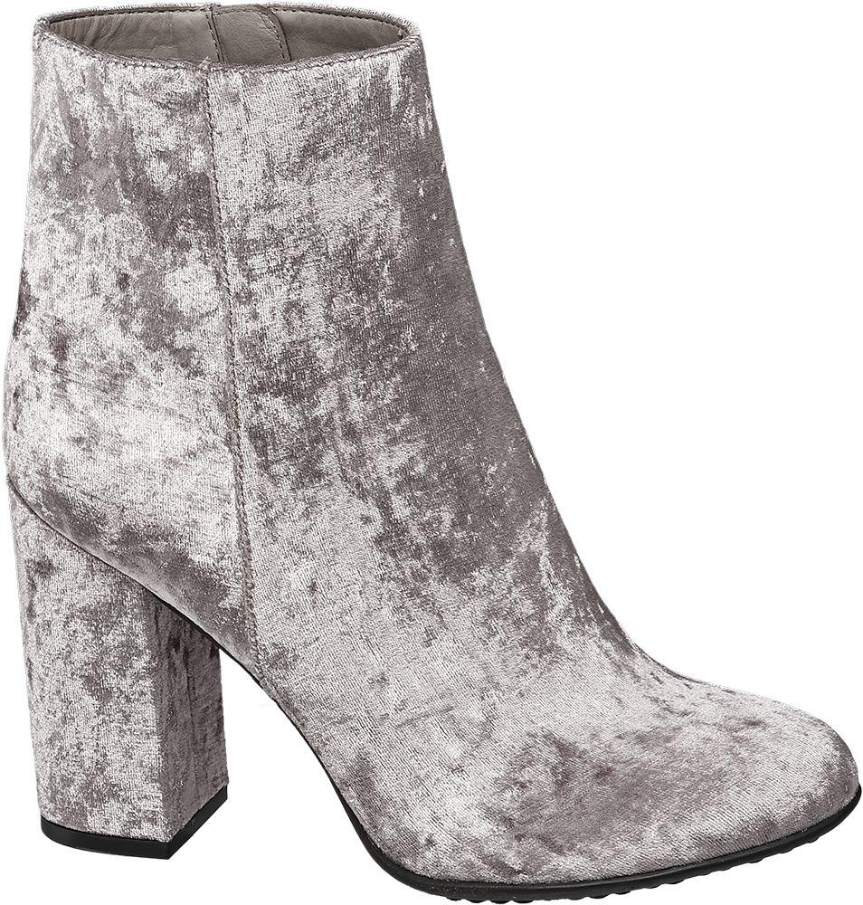 Graceland Nízké kozačky  šedobéžová