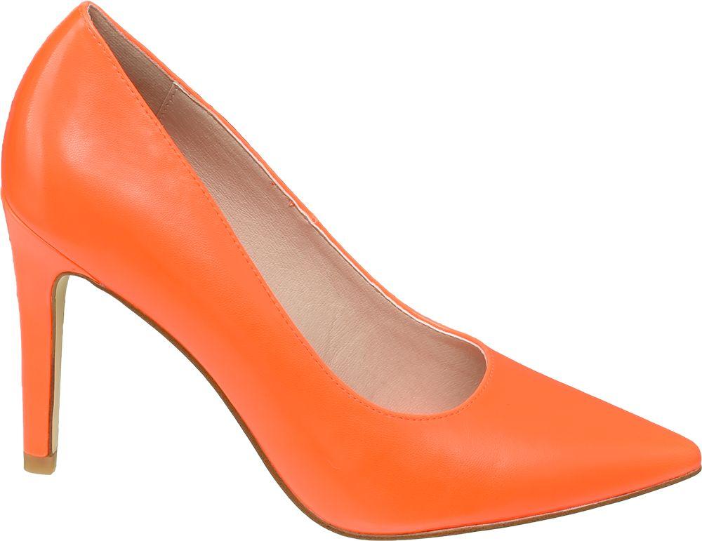 Deichmann - Graceland Oranžové lodičky Graceland 40 oranžová