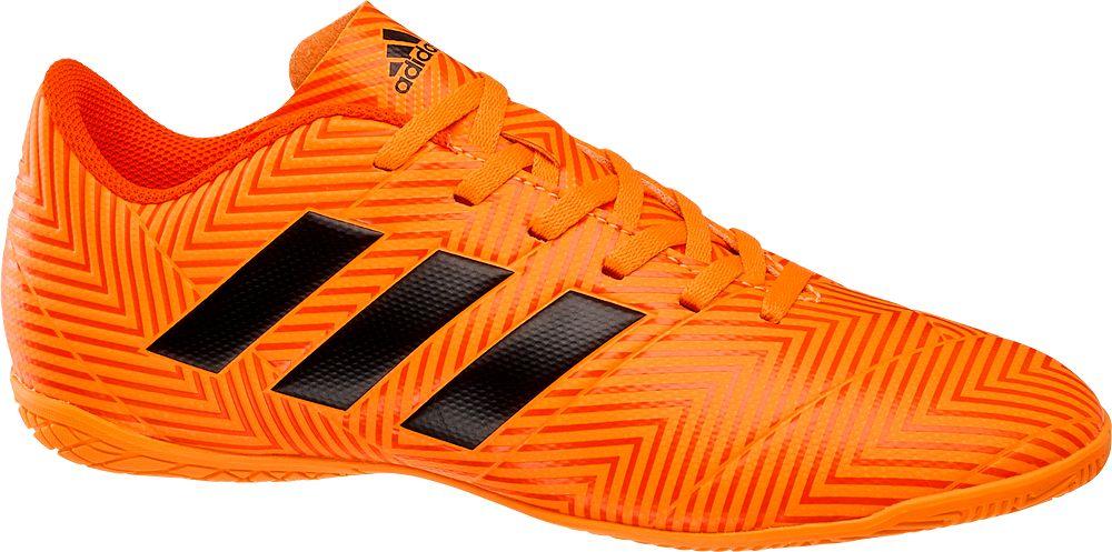 adidas - Oranžové tenisky Adidas Nemeziz Tango 18.4 IN Adidas