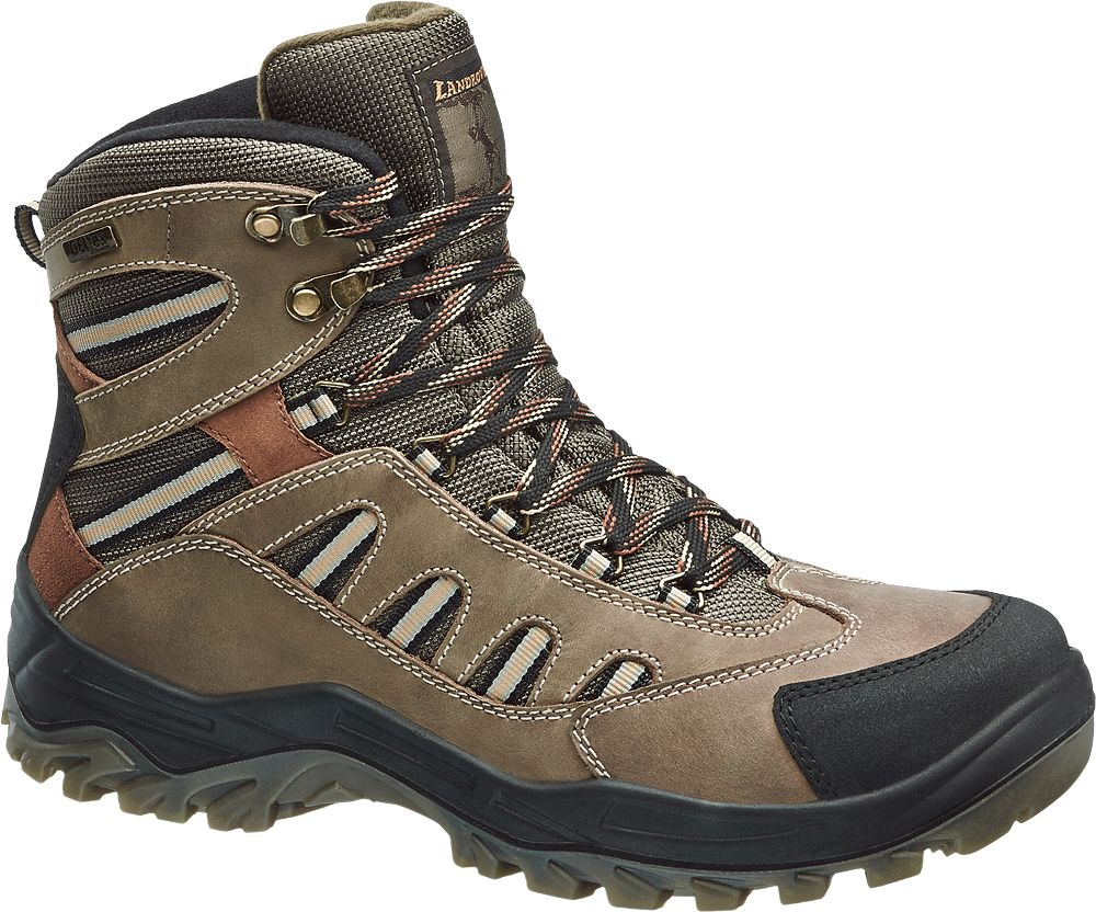 Deichmann - Landrover Outdoorová obuv s membránou TEX 42 hnědá