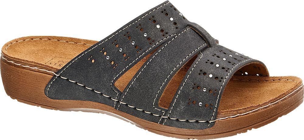 Easy Street Pantofle  šedá