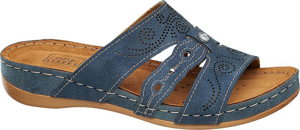 Easy Street Pantofle  modrá