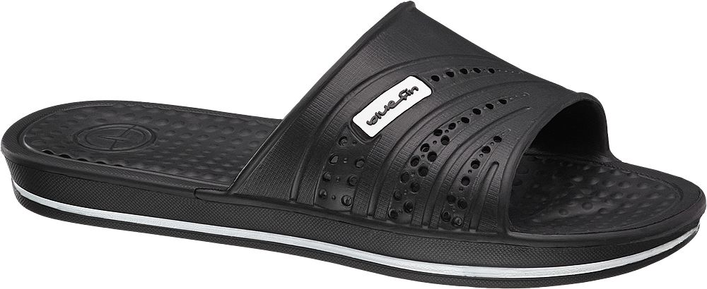 Deichmann - Blue Fin Pantofle 41 černá