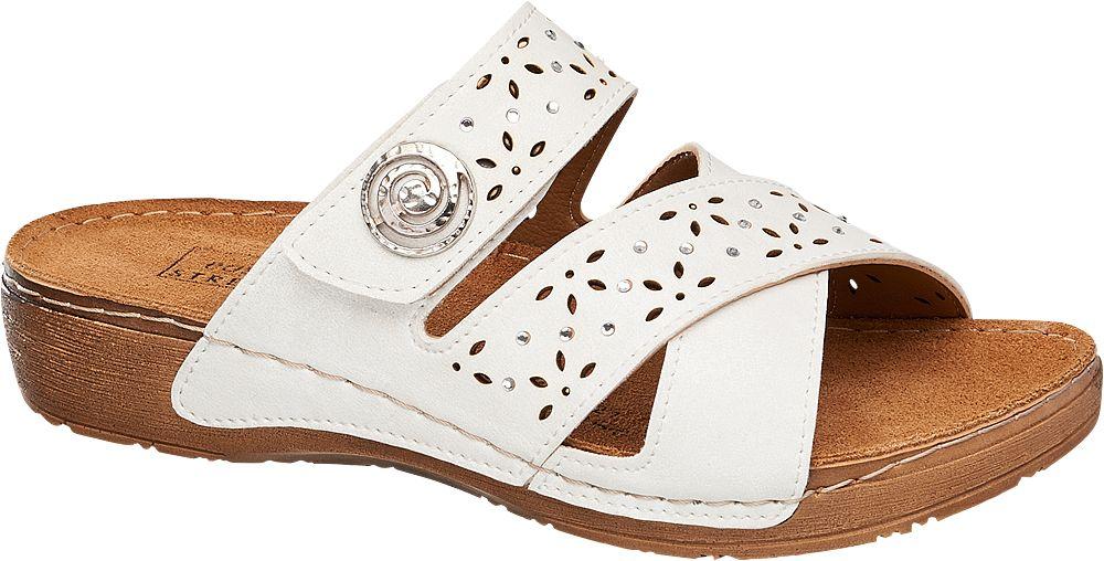 Deichmann - Easy Street Pantofle 41 bílá