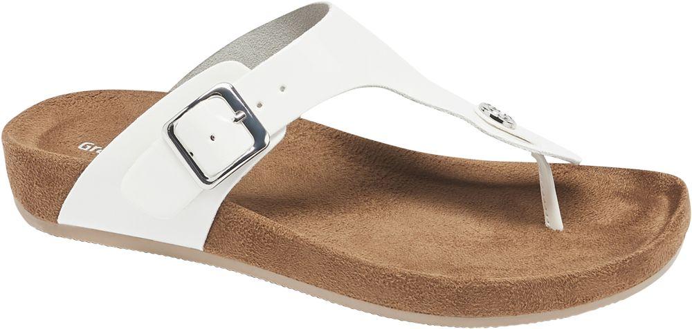 Deichmann - Graceland Pantofle 41 bílá