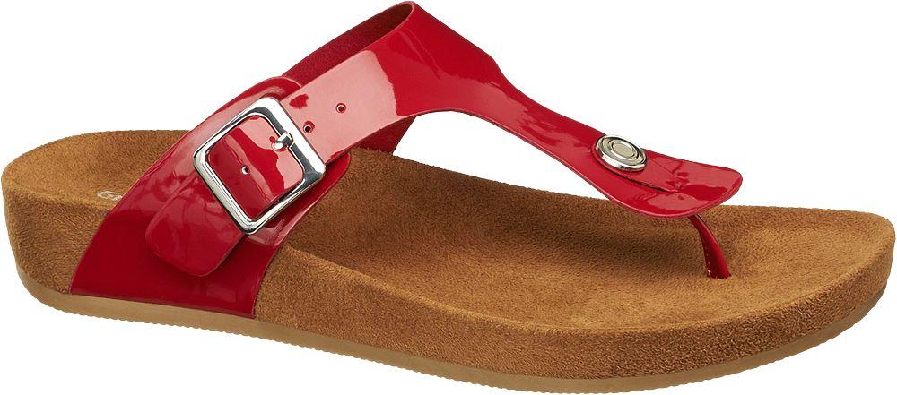 Deichmann - Graceland Pantofle 41 červená