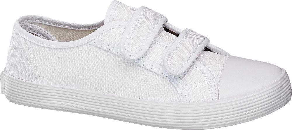 Deichmann - Victory Plátěná obuv 35 bílá