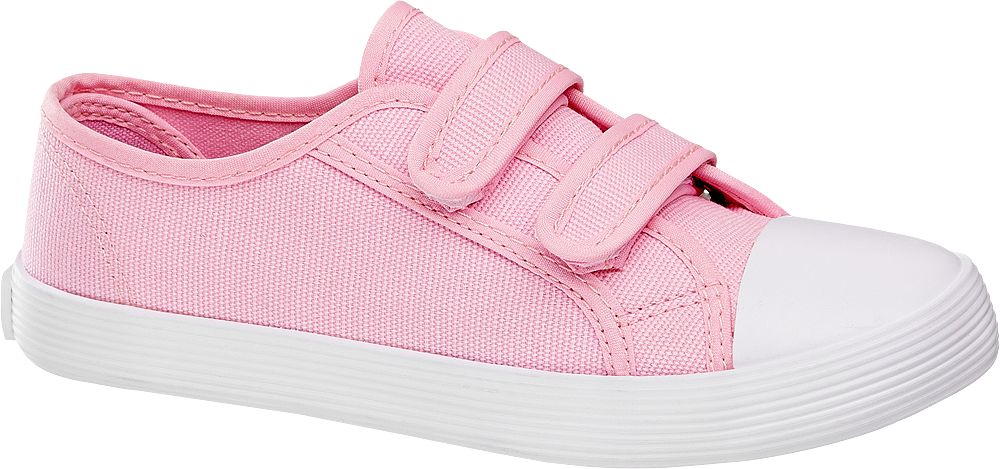 Deichmann - Victory Plátěná obuv 26 růžová