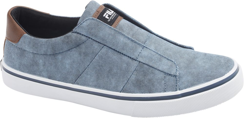 0cae5541f3 Deichmann - Fila Plátěná slip-on obuv 41 modrá