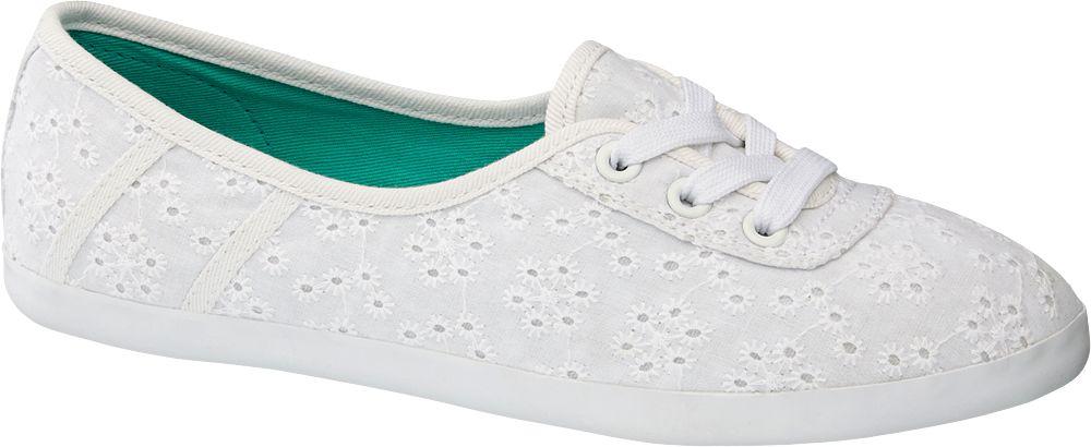 Deichmann - Graceland Plátěné tenisky 38 bílá
