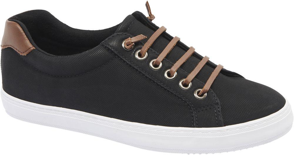 Graceland Plátěné tenisky  černá