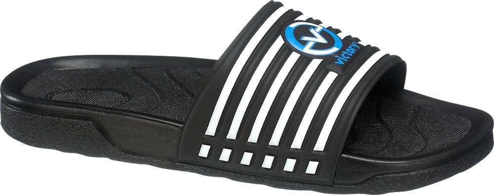 Deichmann - Victory Pánské pantofle 41 černá