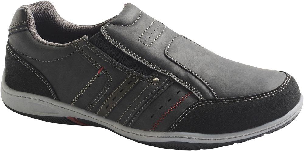 Deichmann - Memphis One Pánská slip-on obuv 40 černá 5b0b80e271