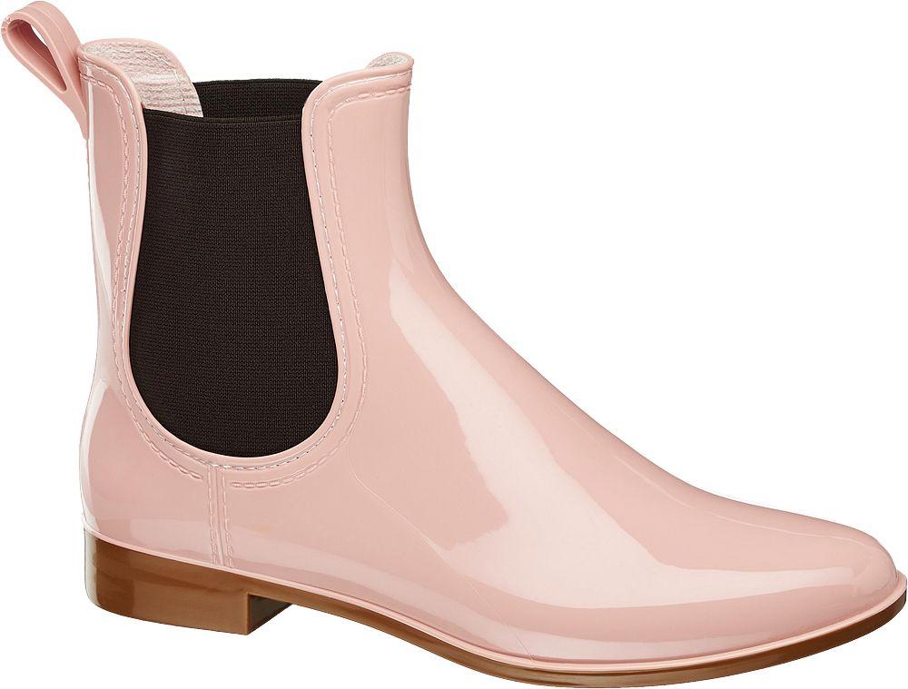 Kalosze damskie Graceland różowe