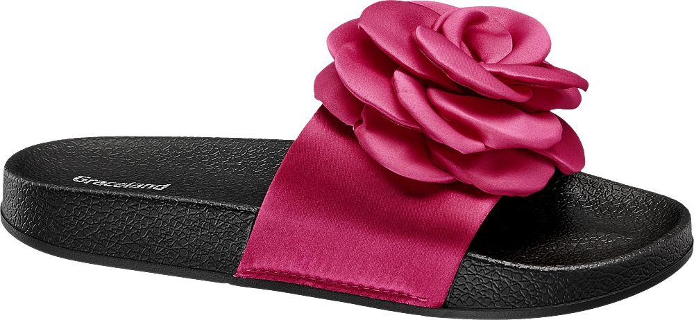 Klapki damskie Graceland różowe