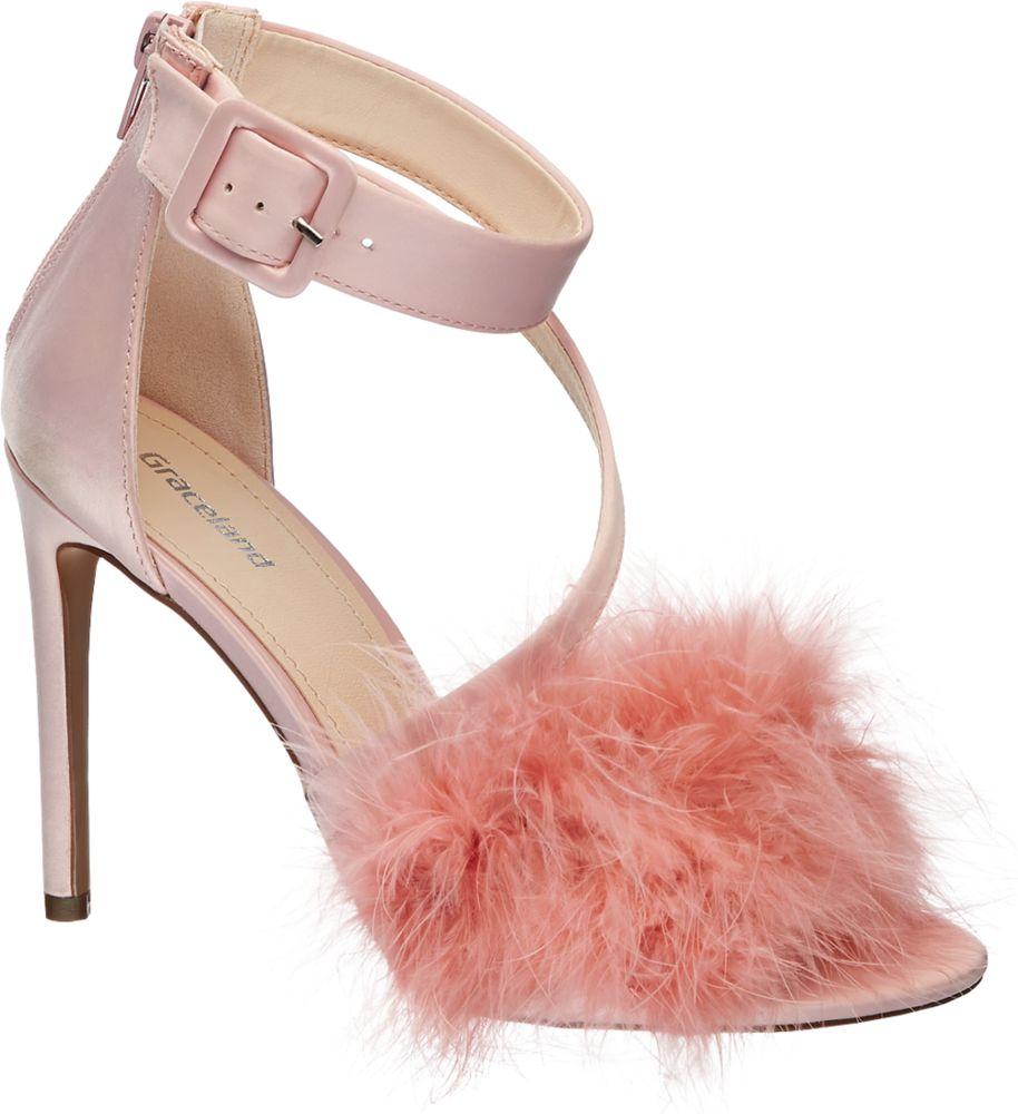 Sandałki damskie Graceland różowe