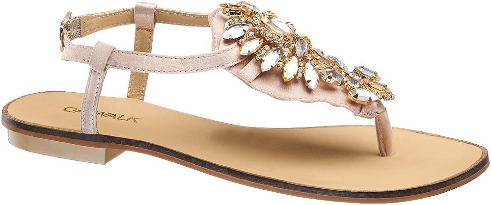 Sandały damskie Catwalk różowe