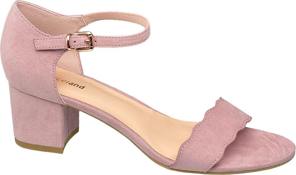 Sandały damskie Graceland różowe