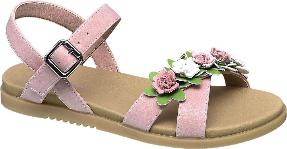 Sandały dziecięce Graceland różowe