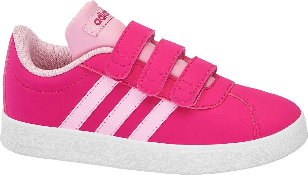 8ce356b4810 buty sportowe, buty sportowe sneakersy dziecięce adidas vl court 2.0 cmf c  adidas różowe -