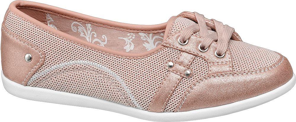 Tenisówki damskie Graceland różowe
