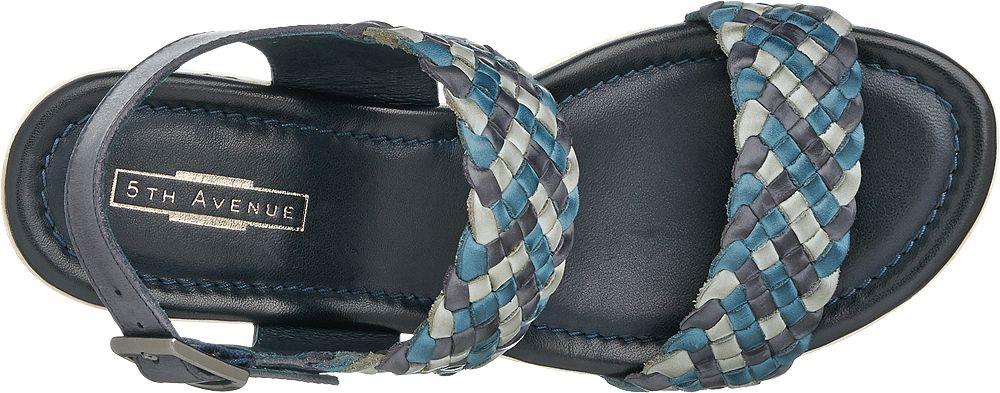 5th Avenue Sandály na klínku  modrá