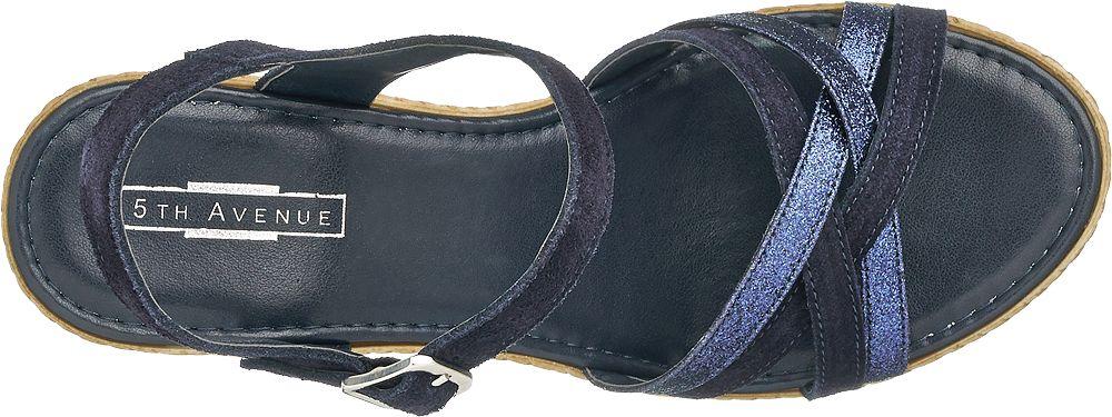 5th Avenue Sandály na klínku  tmavě modrá