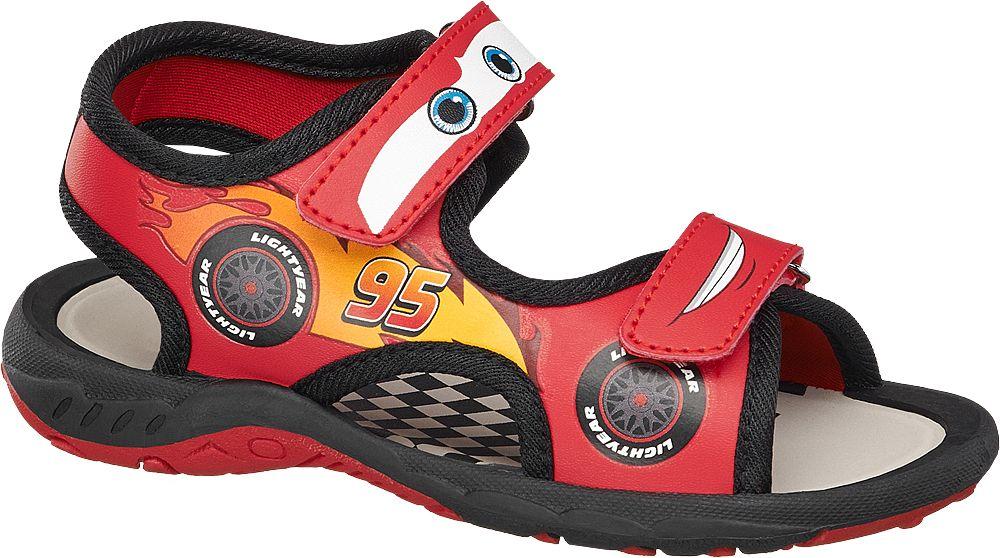 Deichmann - Cars Sandály 26 červená