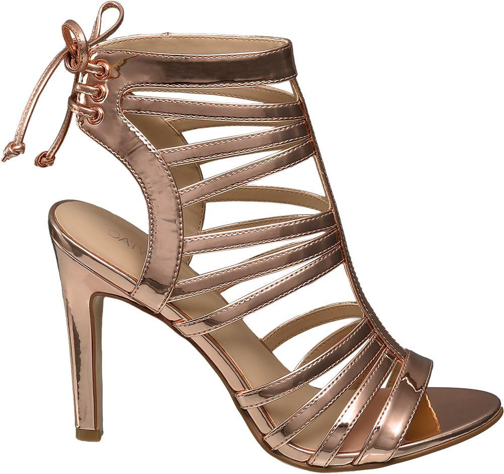 Catwalk Sandály  zlatá