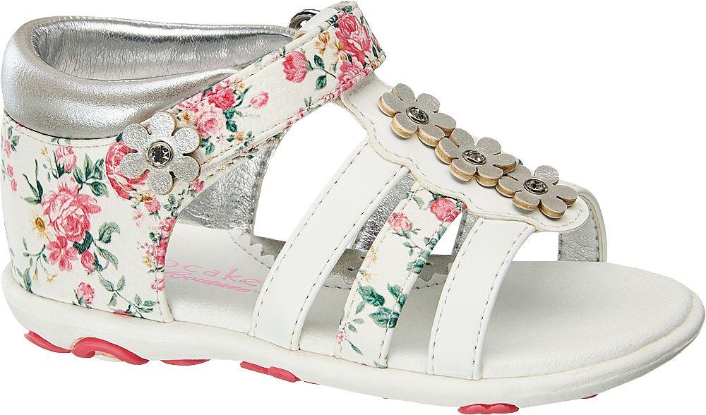 Cupcake Couture Sandály  stříbrná