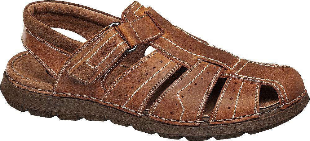 Gallus Sandály  světle hnědá