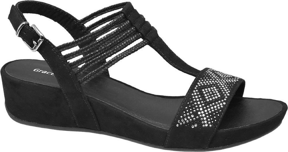 Deichmann - Graceland Sandály 36 černá
