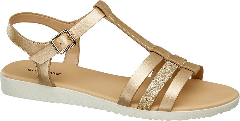 Graceland Sandály  zlatá