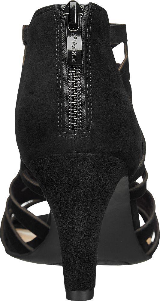 5th Avenue Sandály  černá